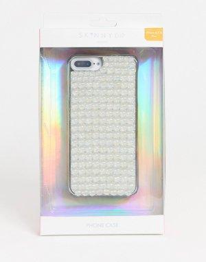 Чехол для iphone PLUS 6/6S/7/8 от -Белый Skinnydip