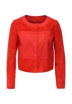 Куртка Pinko. Цвет: коралловый