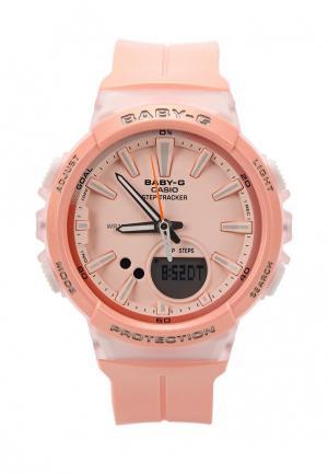 Часы Casio Baby-G BGS-100-4A. Цвет: розовый