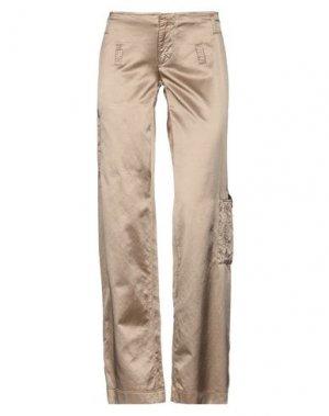 Повседневные брюки GF FERRE'. Цвет: верблюжий