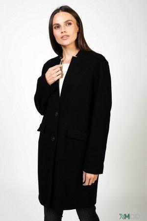 Пальто Set. Цвет: чёрный