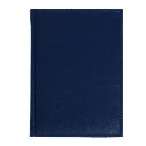 Ежедневник датированный а5 на 2022 г, 168 листов, обложка искусственная кожа nebraska, синий Calligrata