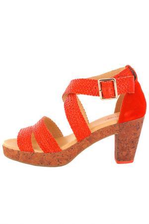 Босоножки Flip Flop. Цвет: красный