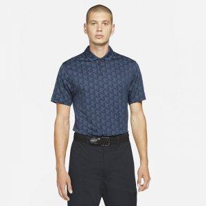 Мужская рубашка-поло для гольфа Dri-FIT Vapor - Синий Nike