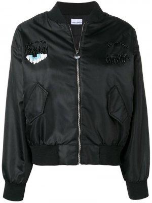 Куртка-бомбер с бисером Chiara Ferragni
