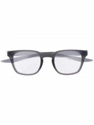Rectangle frame glasses Nike. Цвет: серый