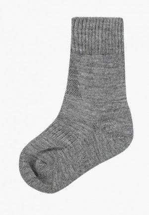 Термоноски Norveg. Цвет: серый