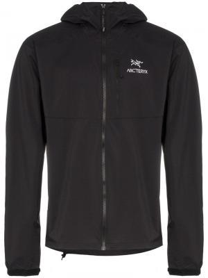 Куртка Squamish с капюшоном Arc'teryx. Цвет: черный