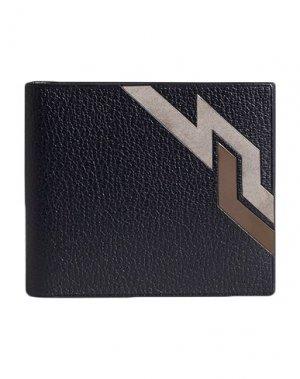 Бумажник DUNHILL. Цвет: черный
