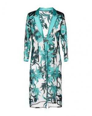 Легкое пальто LEXUS. Цвет: зеленый