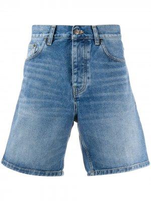 Расклешенные джинсовые шорты Carhartt WIP. Цвет: синий