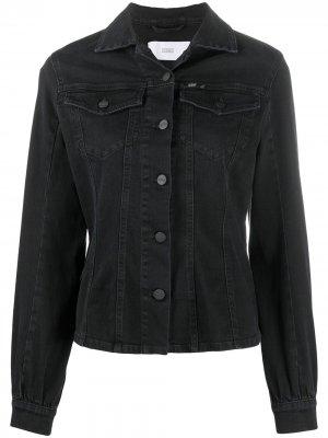 Джинсовая куртка Closed. Цвет: черный