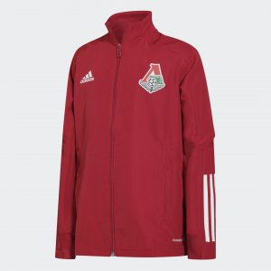 Детская гимновая куртка ФК Локомотив Performance adidas. Цвет: none