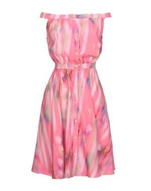 Платье до колена CACHAREL. Цвет: коралловый