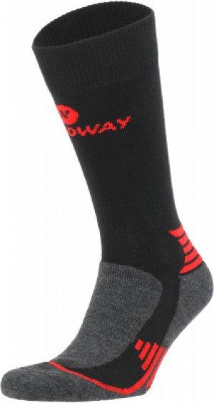 Носки , 1 пара, размер 39-42 Nordway. Цвет: черный