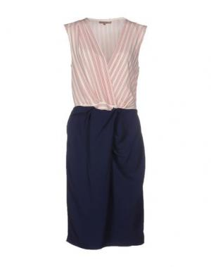 Платье до колена BETTY BLUE. Цвет: белый