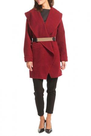 Пальто Figl. Цвет: красный