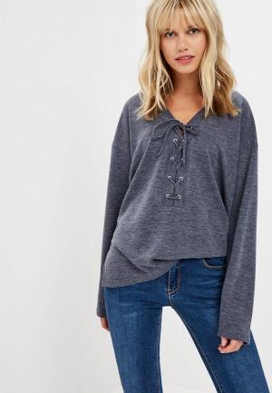 Пуловер Teratai. Цвет: синий