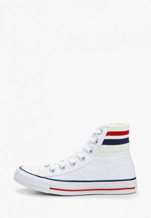 Кеды Converse Chuck Taylor All Star Tube Sock. Цвет: белый