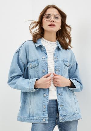 Куртка джинсовая OVS. Цвет: голубой