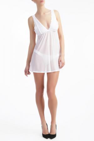 Ночная сорочка Ella Moss. Цвет: белый