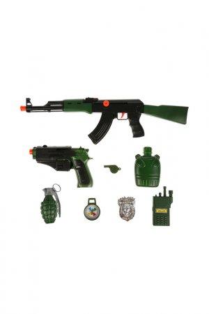 Набор военный Играем вместе. Цвет: зеленый