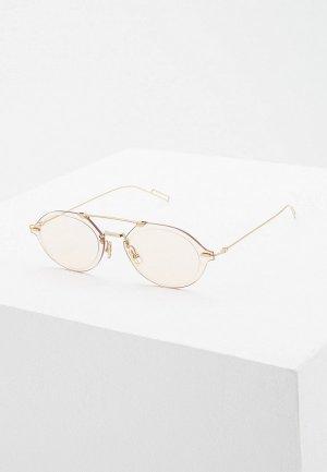 Очки солнцезащитные Christian Dior Homme DIORCHROMA3 J5G. Цвет: золотой