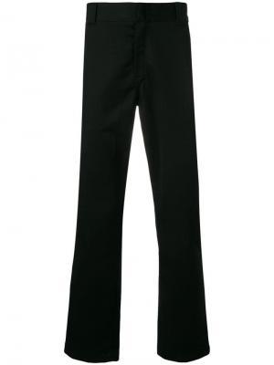 Классические брюки чинос Carhartt WIP. Цвет: черный