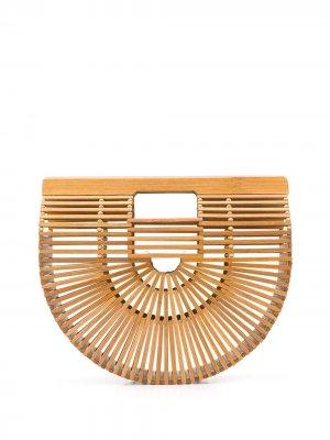 Большая сумка-тоут Ark Cult Gaia. Цвет: коричневый