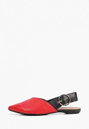 Туфли Bottero. Цвет: красный