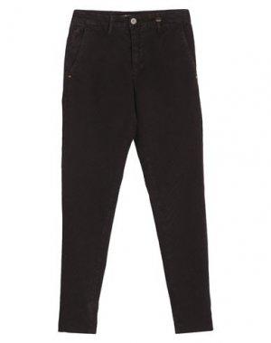 Повседневные брюки LIU •JO MAN. Цвет: темно-коричневый