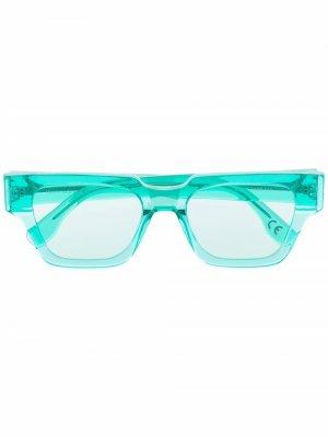 Солнцезащитные очки Storia Retrosuperfuture. Цвет: зеленый