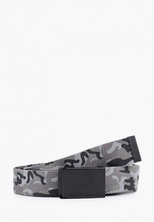 Ремень Urban Classics Canvas Belts. Цвет: серый
