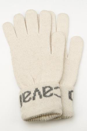 Перчатки Roberto Cavalli. Цвет: белый