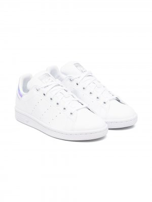Stan Smith lace-up sneakers adidas Kids. Цвет: белый