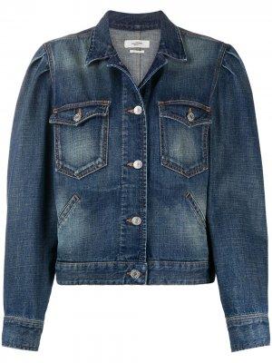 Джинсовая куртка Bolinea Isabel Marant Étoile. Цвет: синий