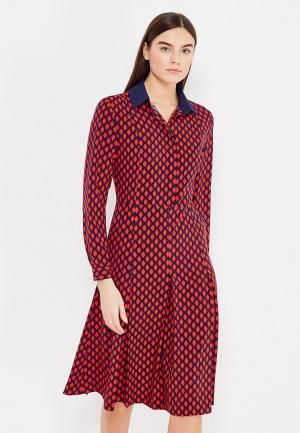 Платье Katya Erokhina Gladis Drop. Цвет: красный