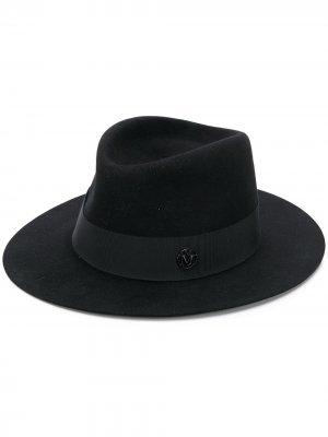 Шляпа с лентой Maison Michel. Цвет: черный