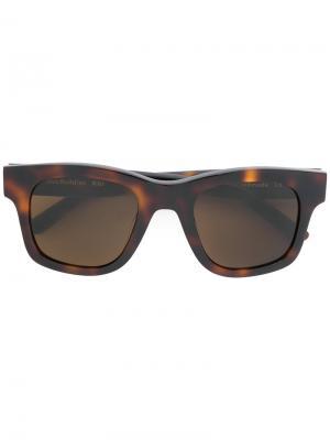 Солнцезащитные очки Bibi Sun Buddies. Цвет: коричневый