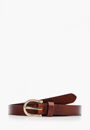 Ремень Marks & Spencer. Цвет: коричневый