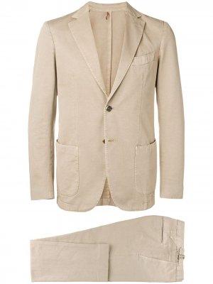 Delloglio костюм-двойка Dell'oglio. Цвет: нейтральные цвета