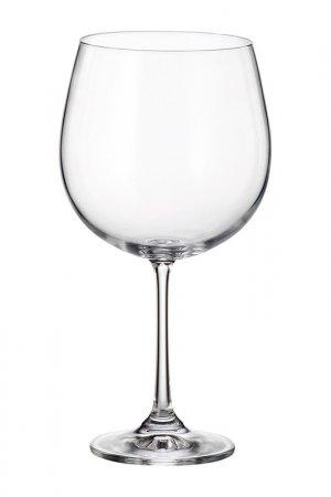Набор бокалов для вина 6 шт Crystalite Bohemia. Цвет: прозрачный