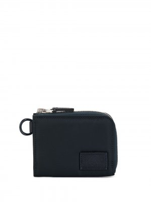 Zip-around small wallet Sacai. Цвет: синий