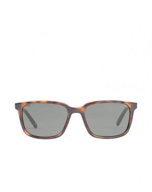 Солнечные очки TED BAKER. Цвет: темно-коричневый