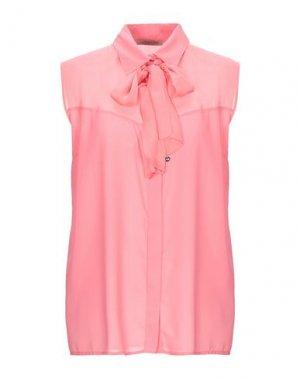 Блузка BETTY BLUE. Цвет: розовый