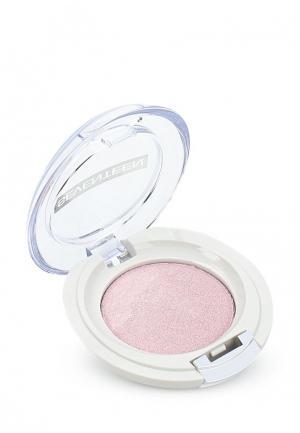 Тени для век Seventeen компактные, тон 13 Extra Sparkle Shadow нежно розовый. Цвет: розовый
