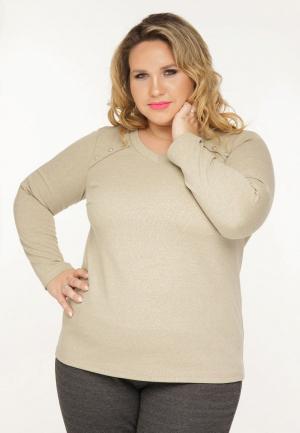 Пуловер Gorda Bella Несси. Цвет: бежевый