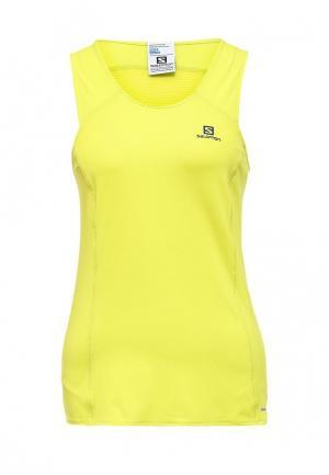 Майка спортивная Salomon COMET TANK W. Цвет: желтый