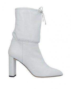 Полусапоги и высокие ботинки DEIMILLE. Цвет: светло-серый