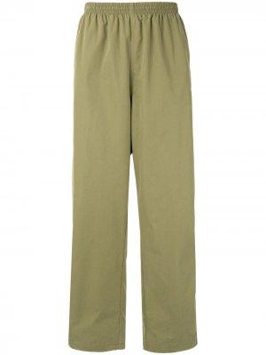 Спортивные брюки свободного кроя Stussy. Цвет: зеленый
